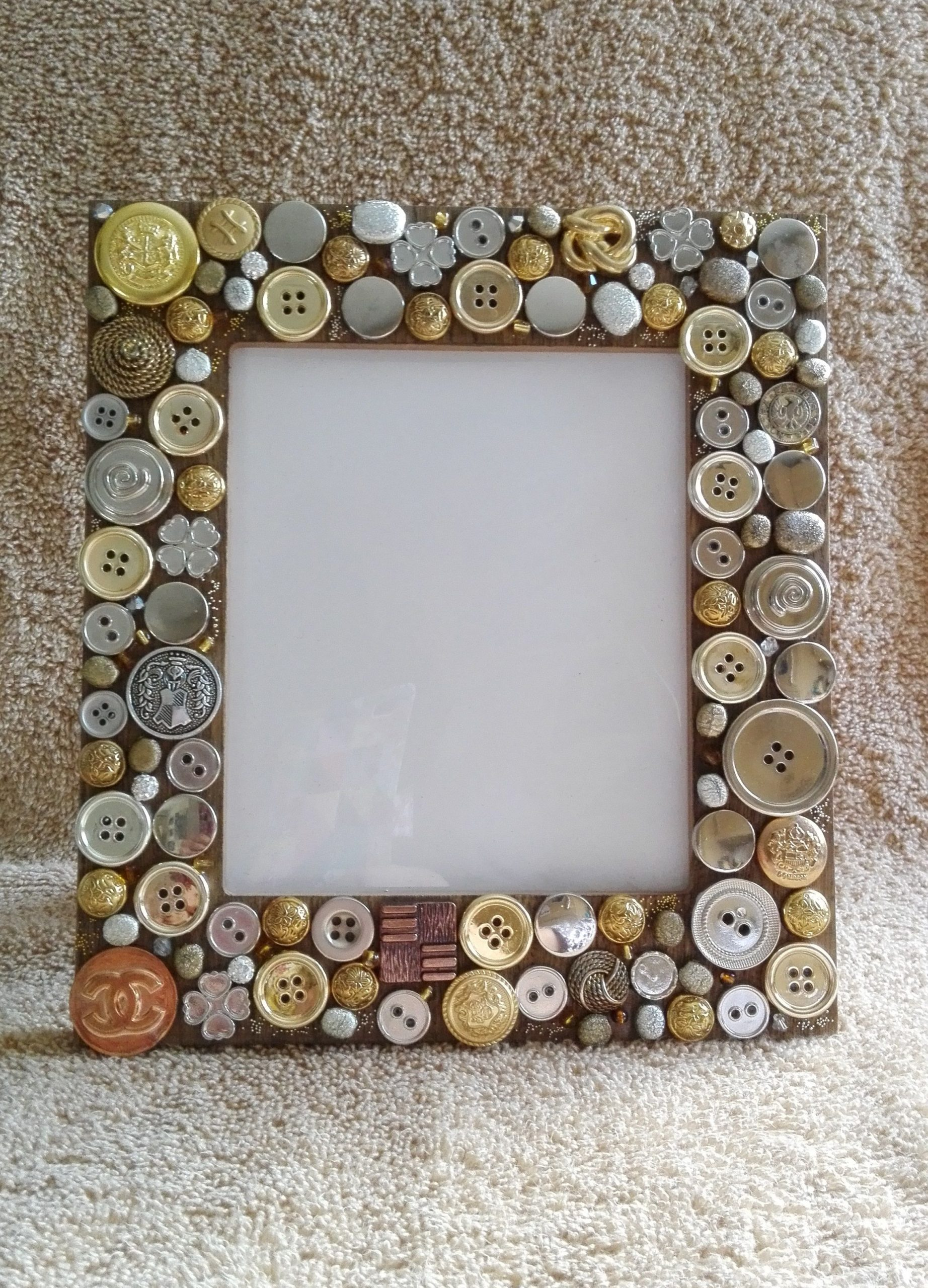 DIY Picture Frame Decorating