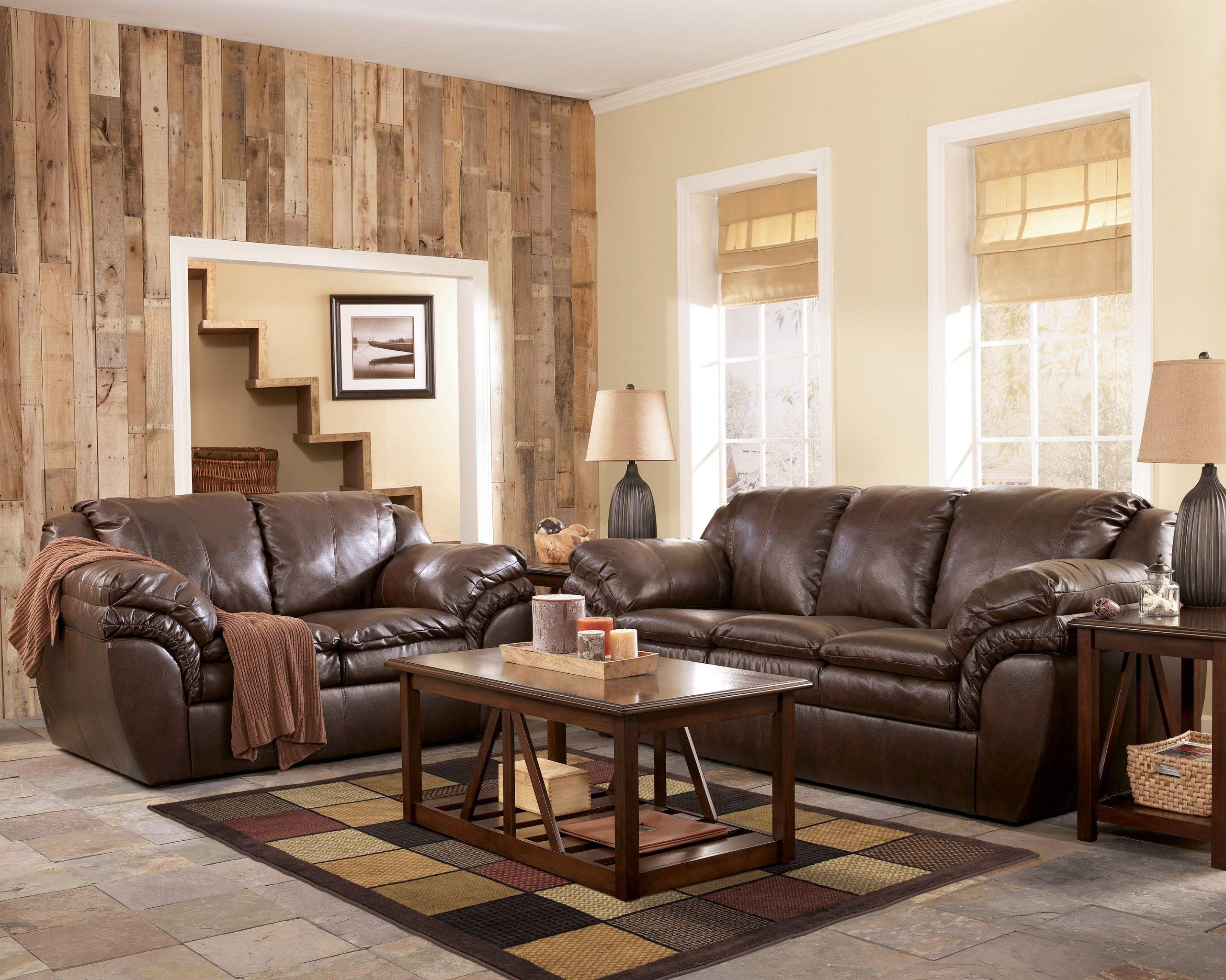 Ashley Furniture Leather Sofa