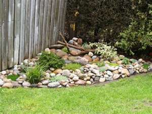 Corner Rock Garden Ideas