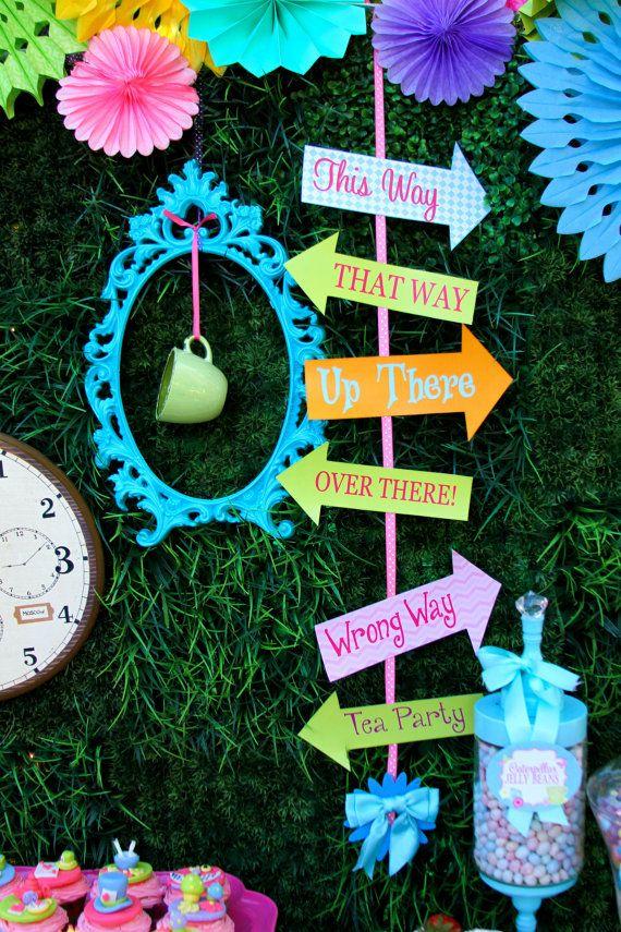 Alice In Wonderland Decorations DIY