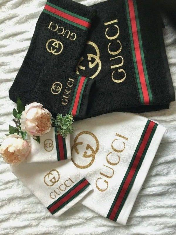Gucci Bathroom Set