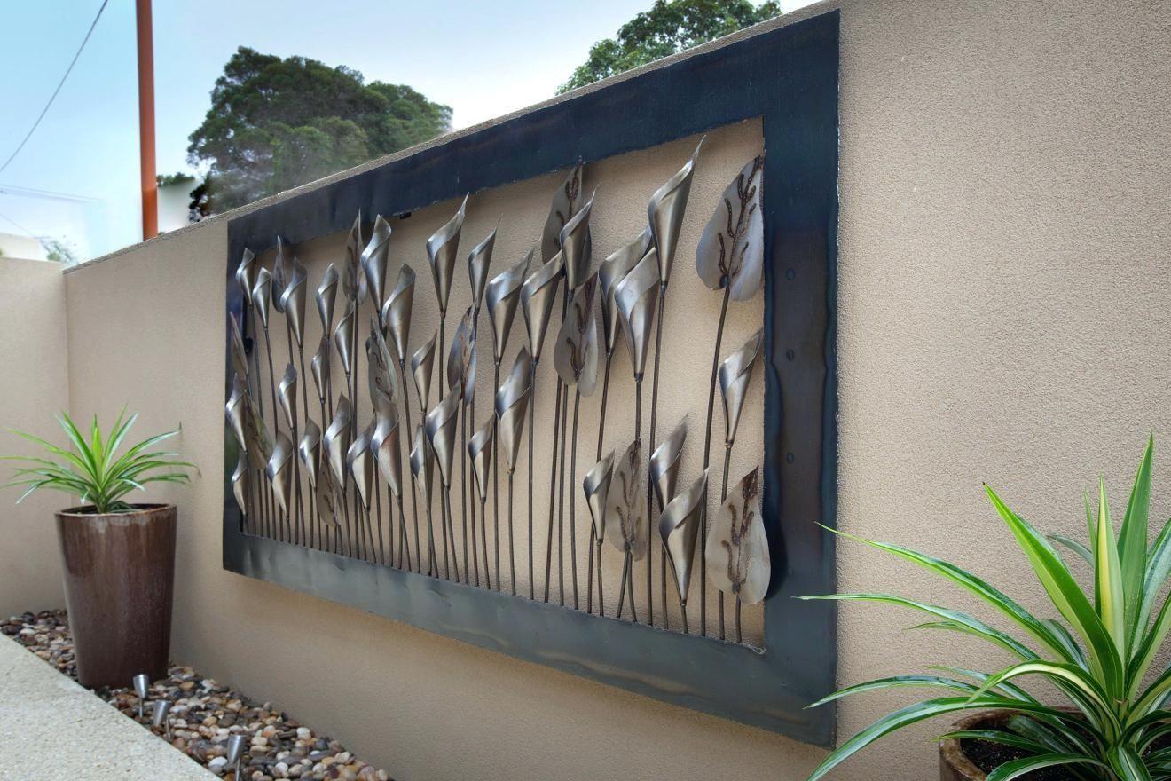 Large Outdoor Metal Wall Art