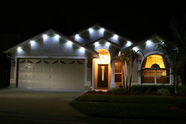 Exterior Soffit Lighting