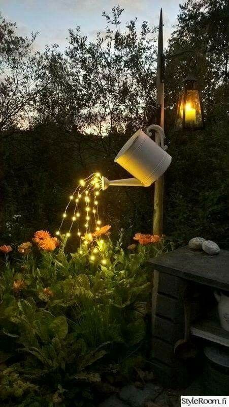 Solar Lights Garden Ideas