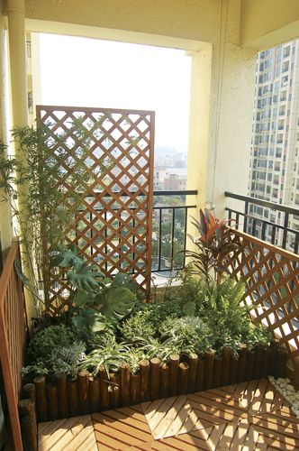 Apartment Balcony Privacy Screen