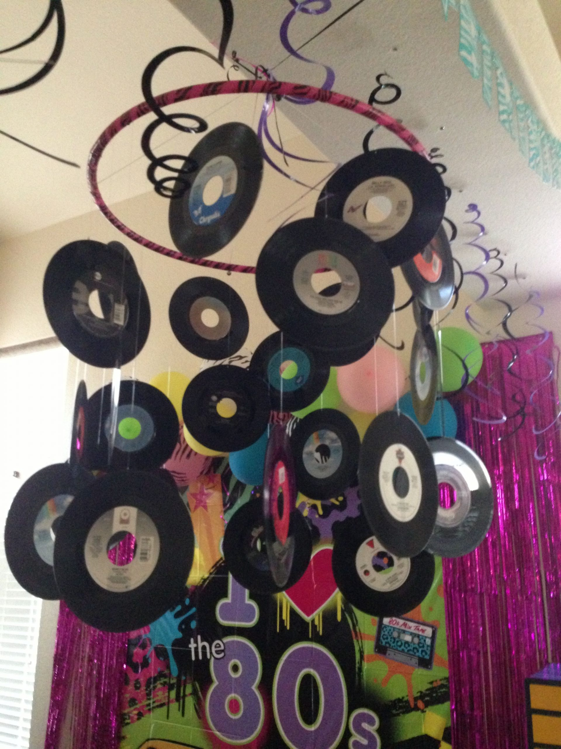 80s Party Decorations DIY