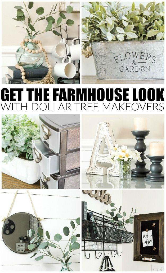 DIY Dollar Tree Farmhouse Decor
