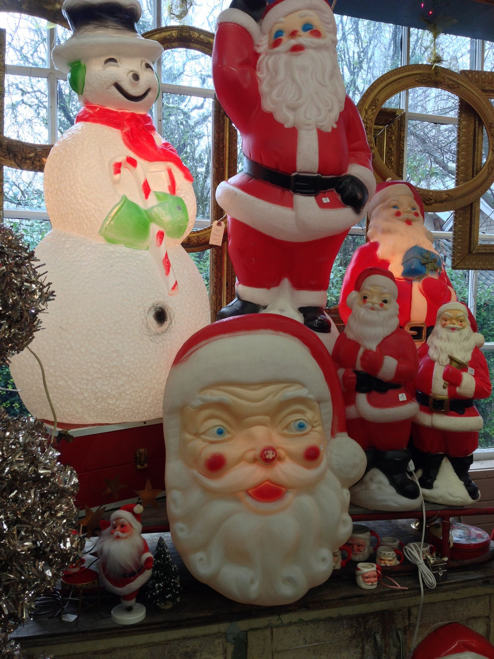Vintage Outdoor Christmas Decorations