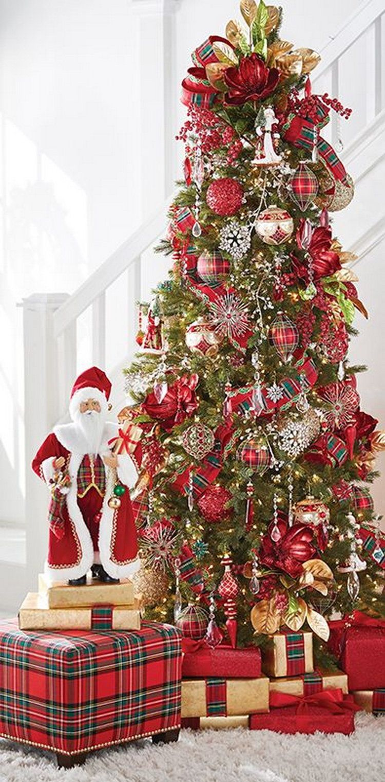 Pre Decorated Christmas Trees