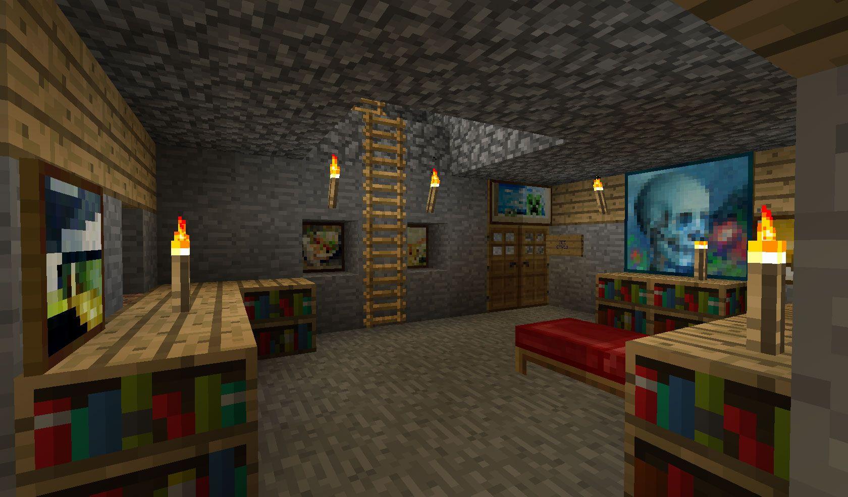 Minecraft Bedroom Designs