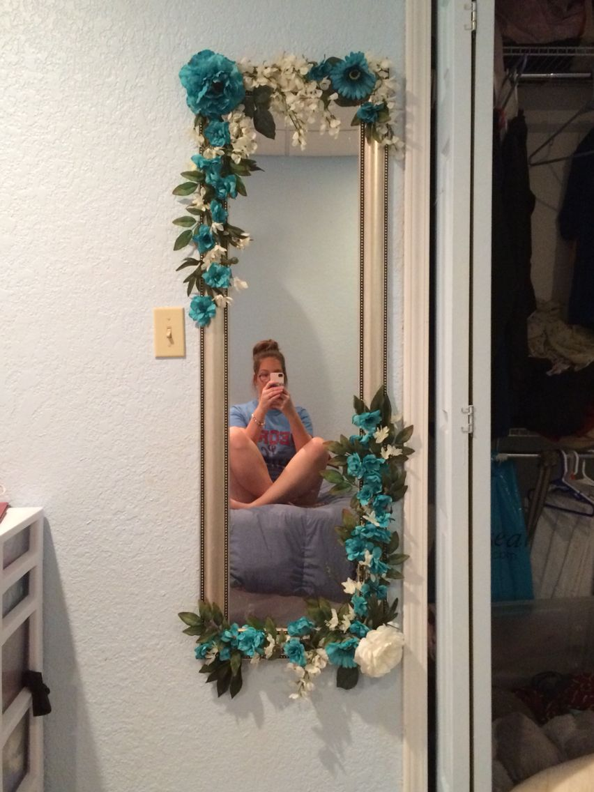 Bedroom DIY Mirror Decor