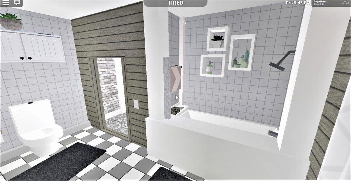 Bloxburg Bathroom Ideas