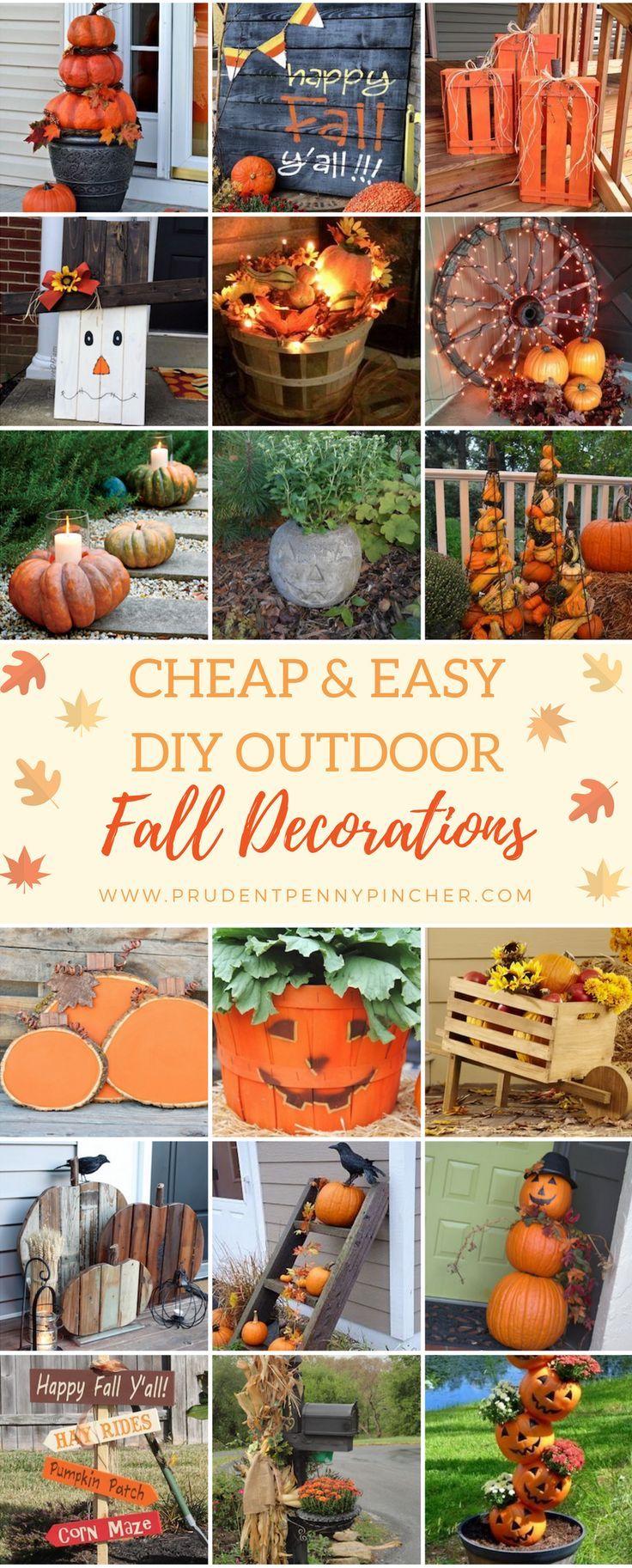 DIY Outdoor Fall Decor