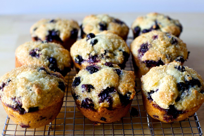 Smitten Kitchen Blueberry Muffins