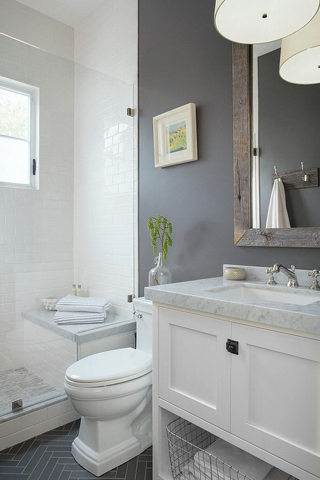 Grey And White Bathroom Ideas
