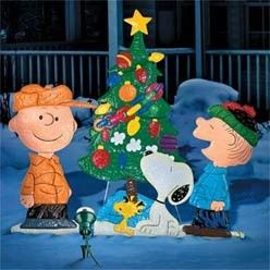 Charlie Brown Outdoor Christmas Decorations