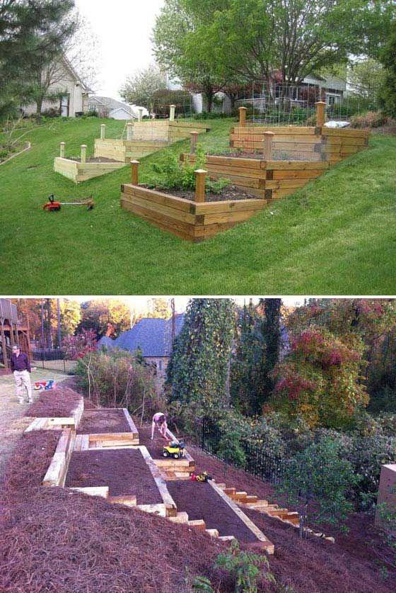 Steep Slope Garden Ideas