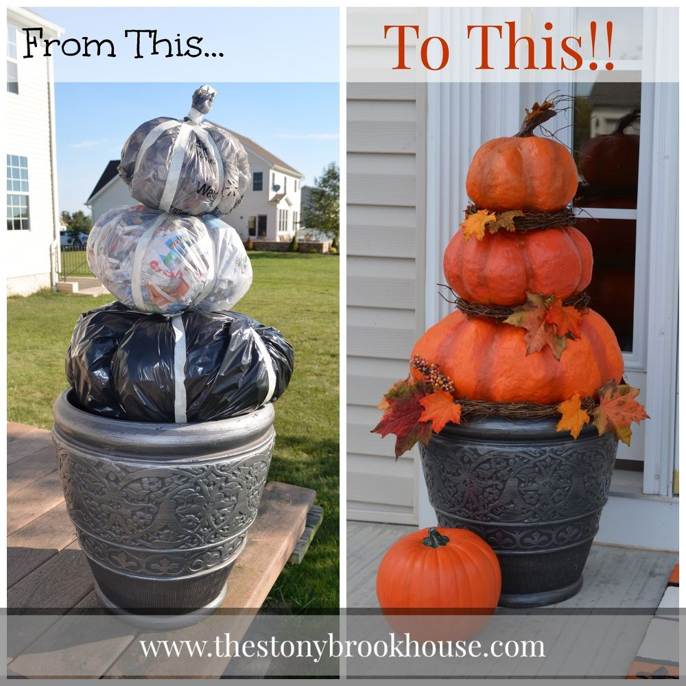 Outdoor DIY Fall Decor