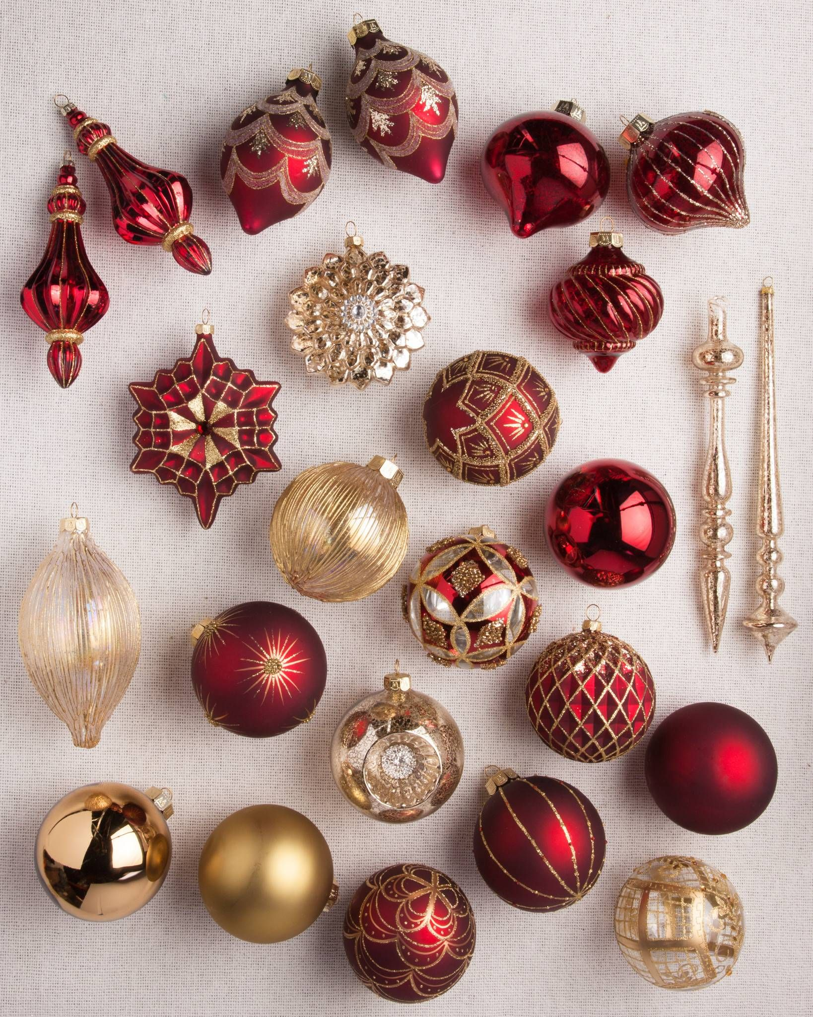 Christmas Tree Ornament Sets