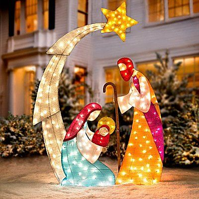 Nativity Outdoor Christmas Decorations