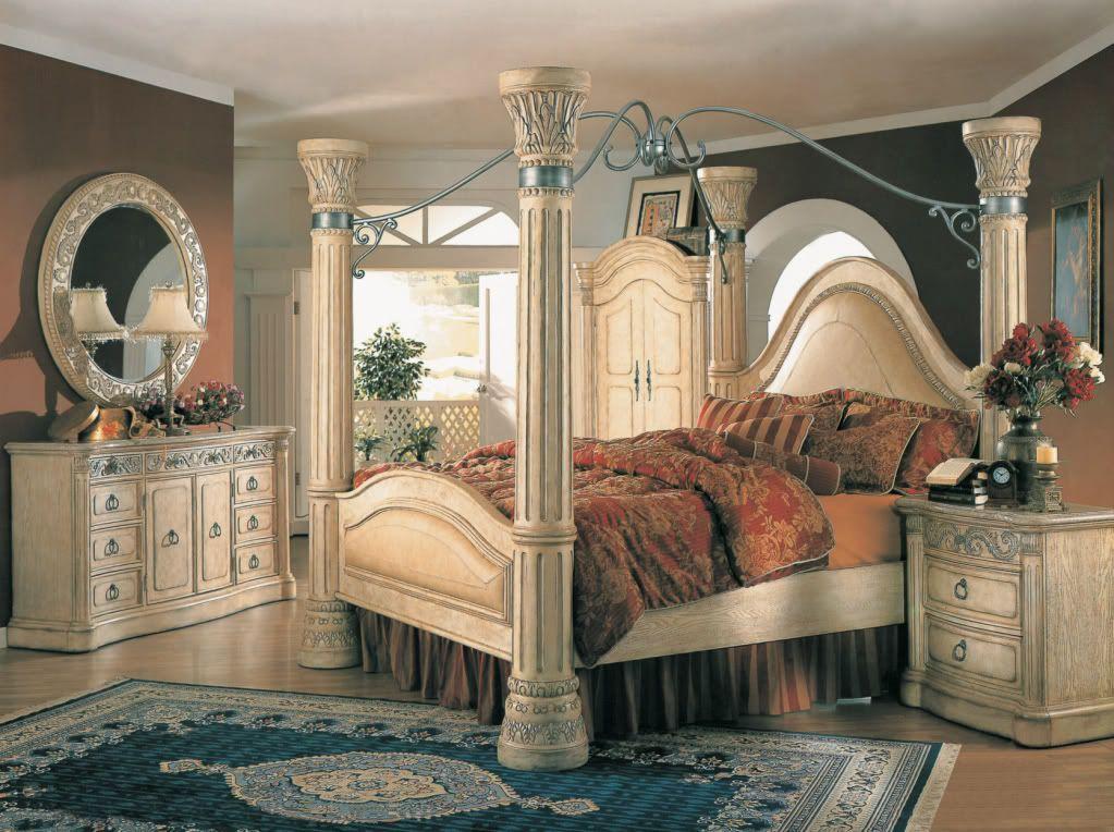 King Canopy Bedroom Sets