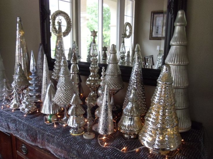 Mercury Glass Christmas Tree