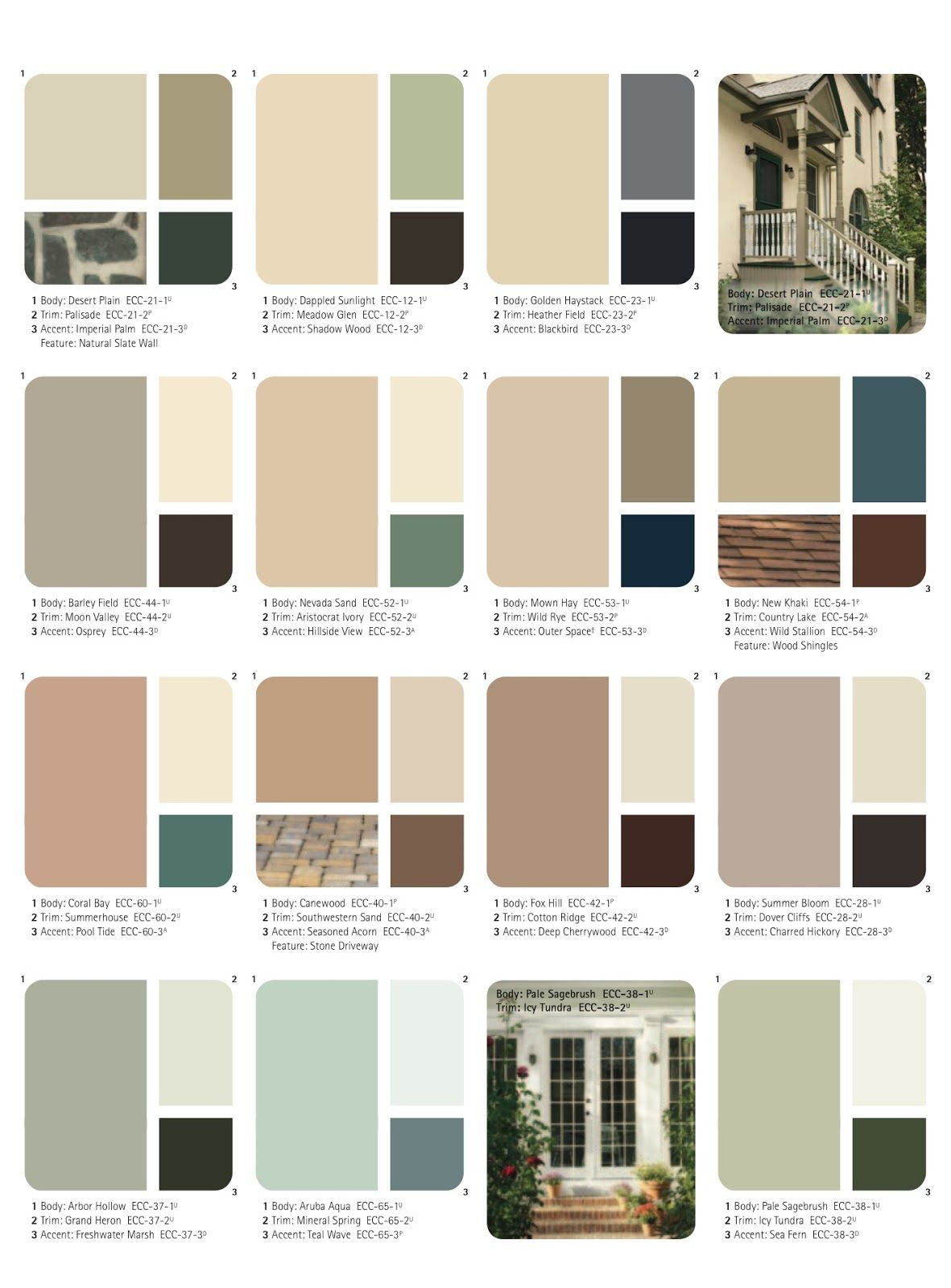 Exterior Color Schemes