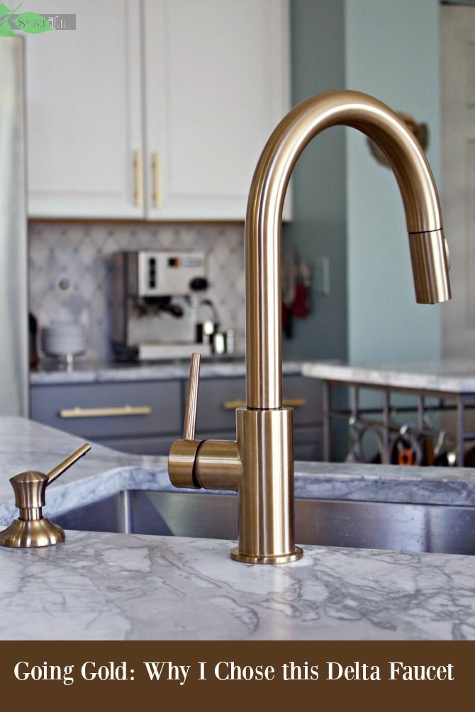 Champagne Bronze Kitchen Faucet