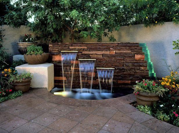 Water Fountain Garden Ideas