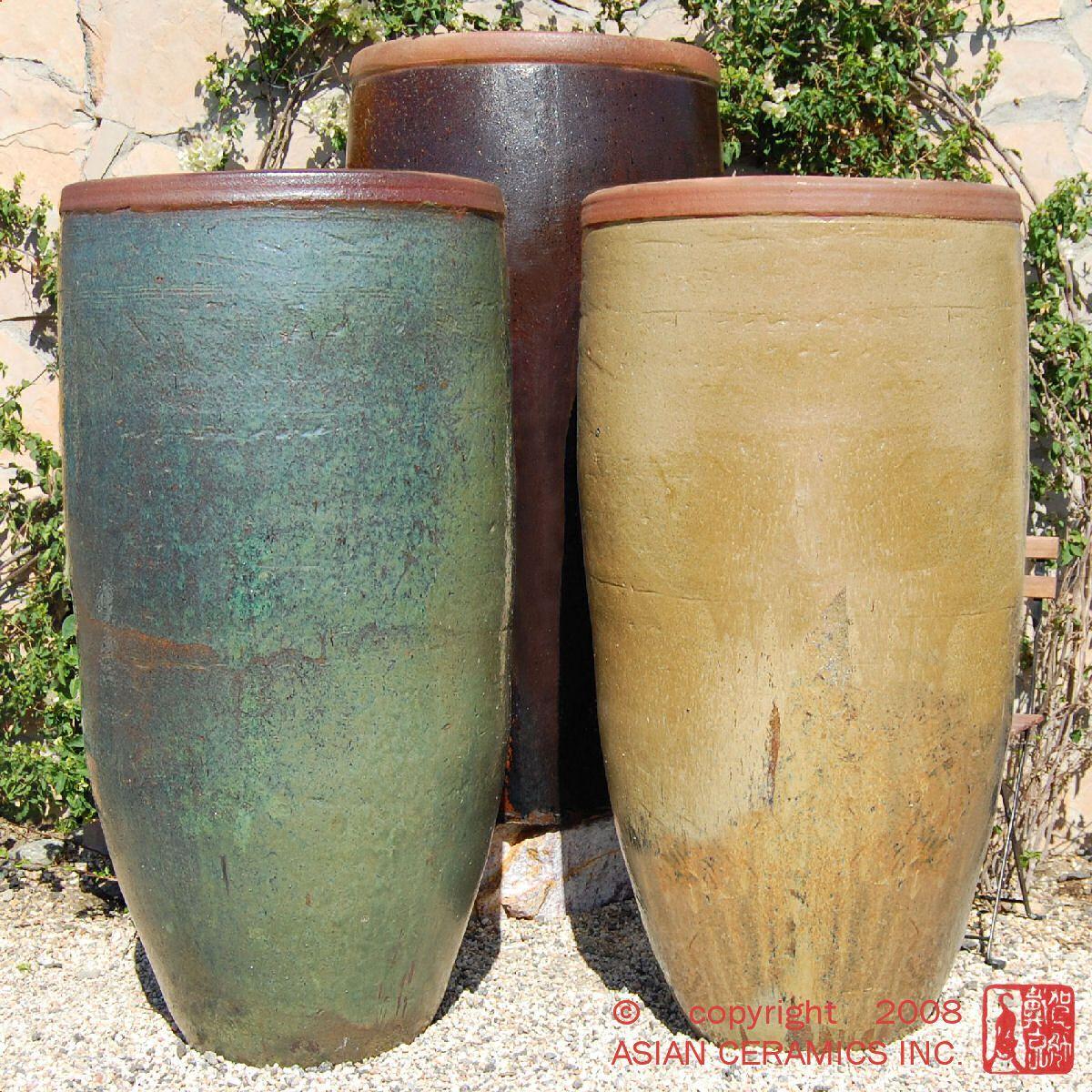 Large Ceramic Outdoor Planters