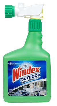 Windex Outdoor Glass & Patio Concentrated Cleaner