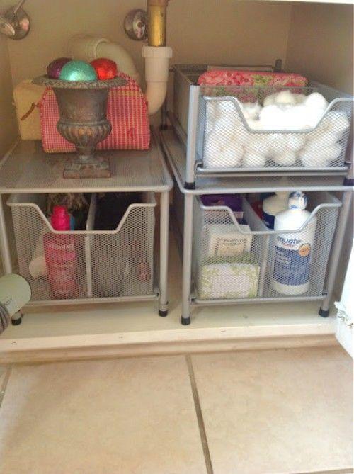 Bathroom Sink Organizer