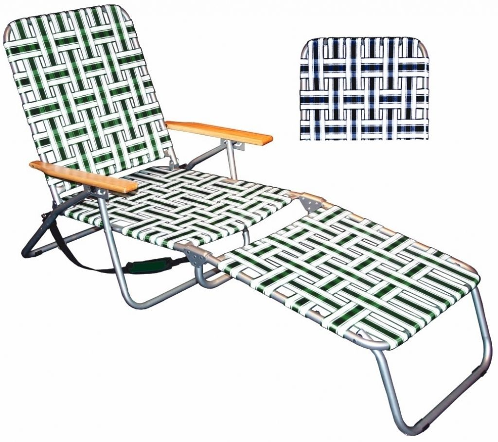 Folding Chaise Lounge Outdoor