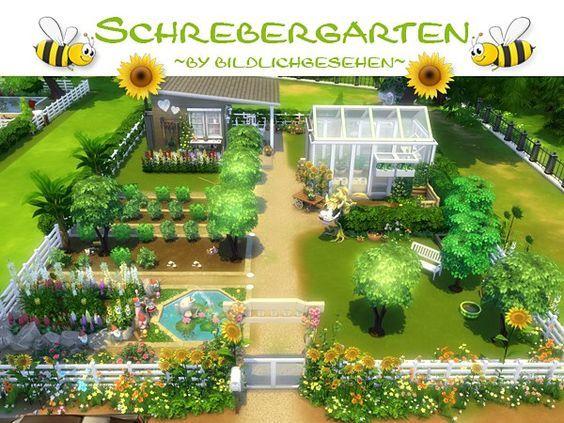 Sims 4 Garden Ideas