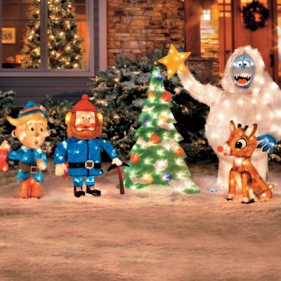 Rudolph Outdoor Christmas Decorations