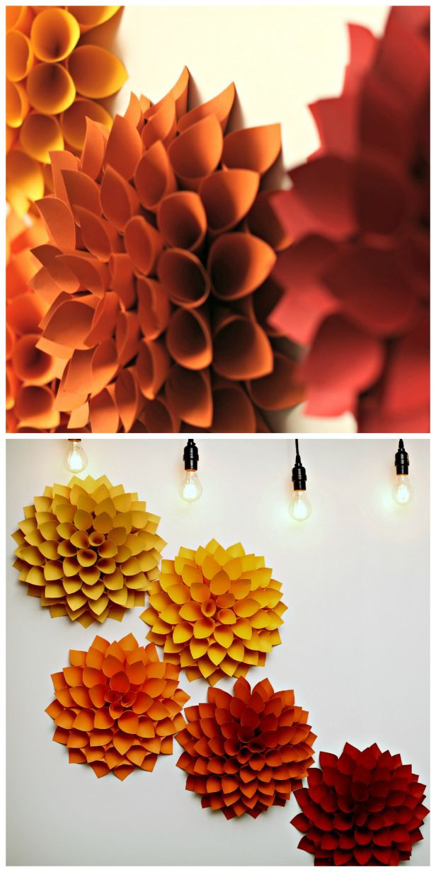 DIY Wall Decor With Paper