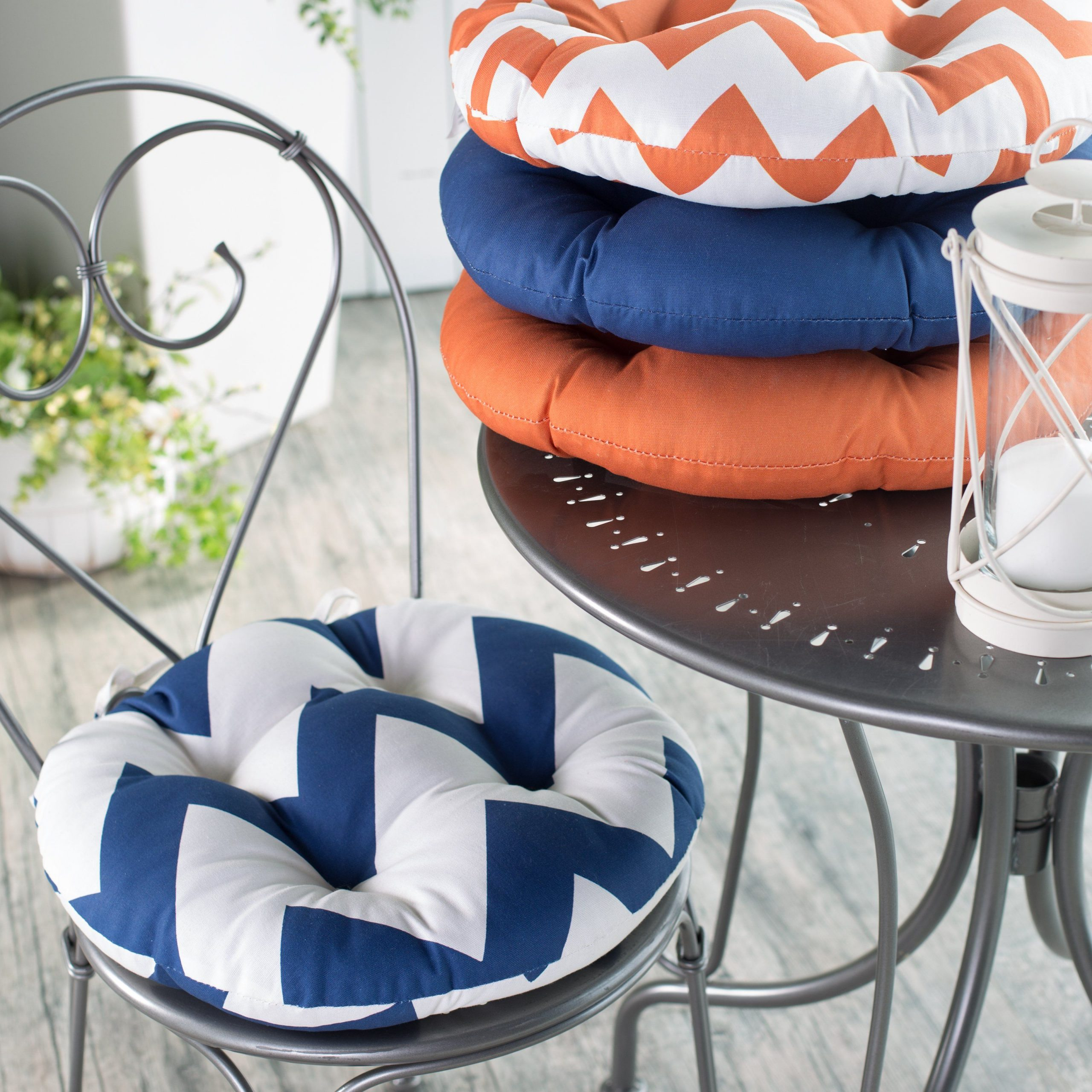 Round Outdoor Seat Cushions