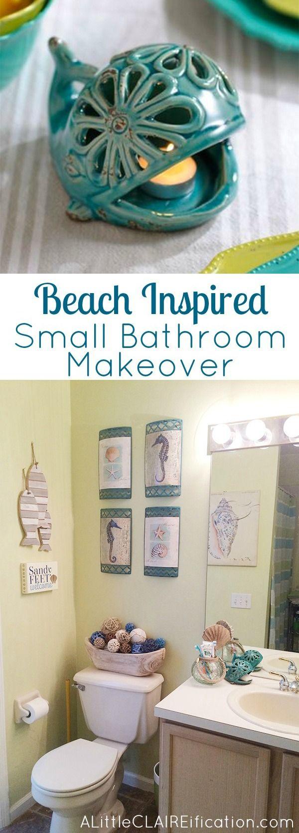 DIY Beach Bathroom Decor