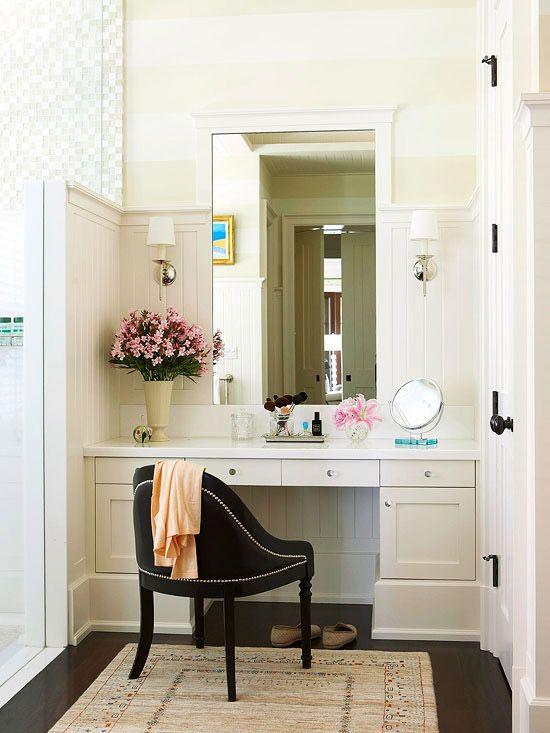 Bathroom Makeup Vanity
