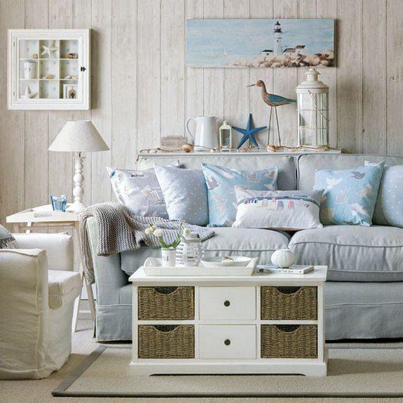 Beach Theme Living Room