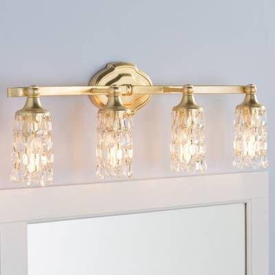 Gold Bathroom Light Fixtures