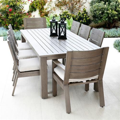 Aluminum Outdoor Dining Set