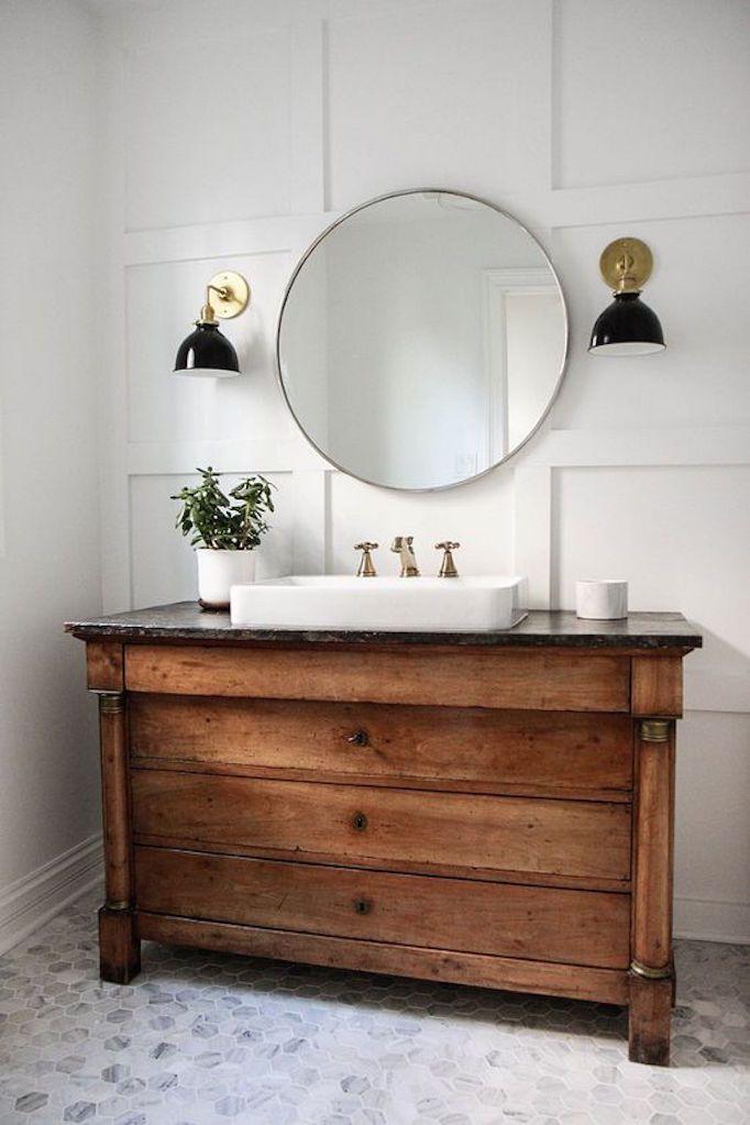 Antique Bathroom Vanity