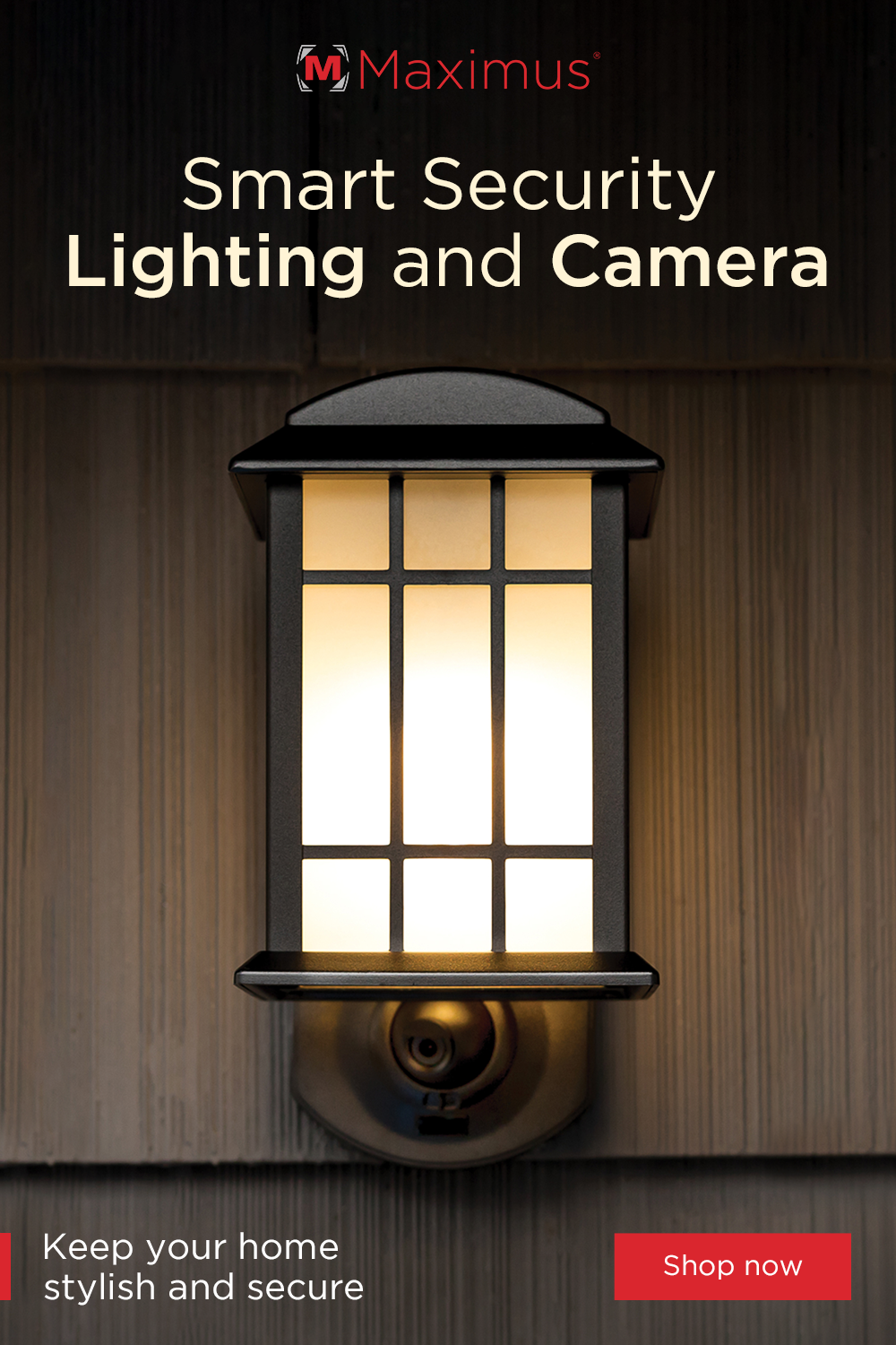 Outdoor Light With Camera