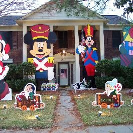 Mickey Mouse Outdoor Christmas Decorations
