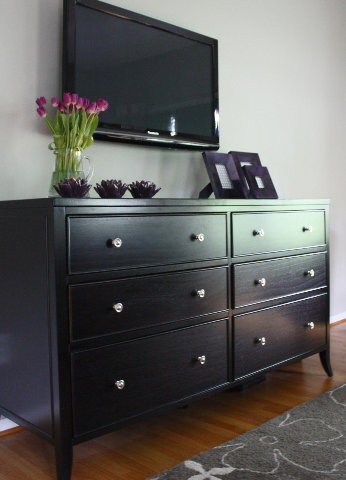 Black Bedroom Dresser