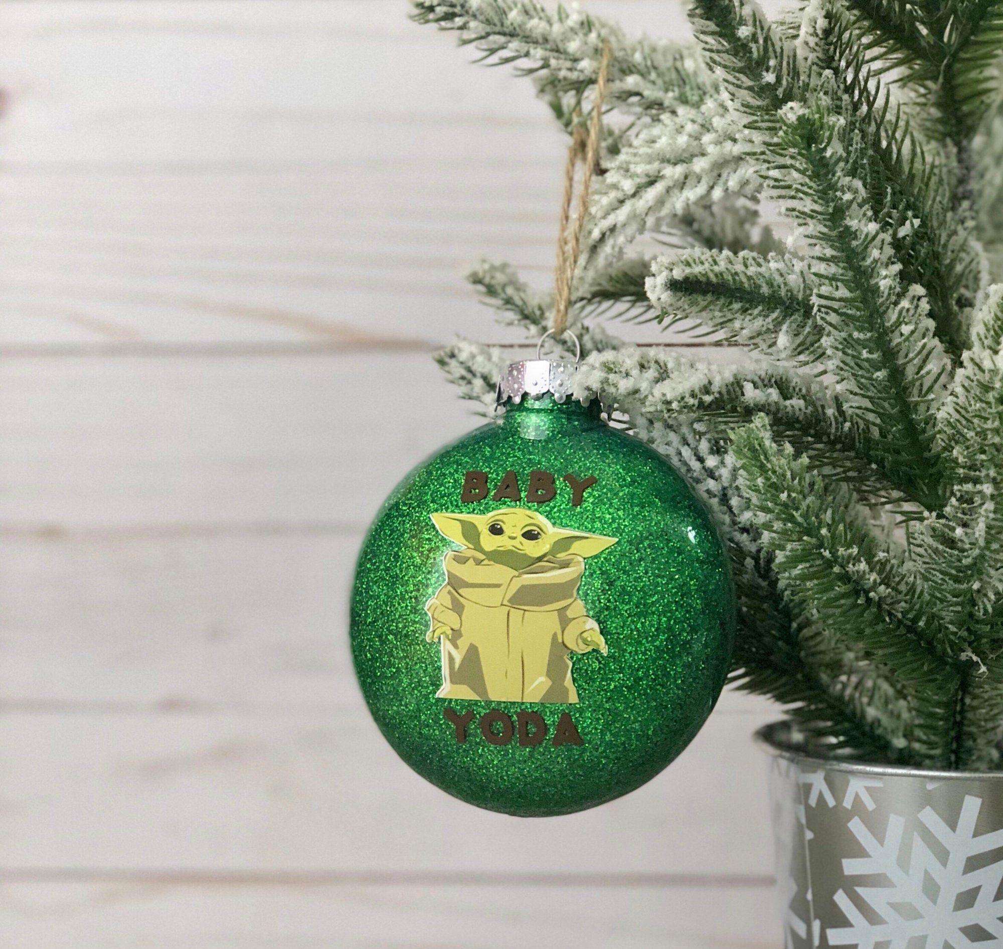 Baby Yoda Christmas Decoration