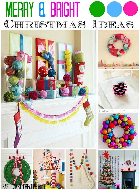 Merry And Bright Christmas Decorations
