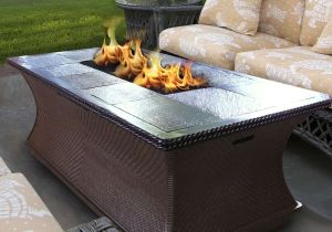 Outdoor Coffee Table Fire Pit