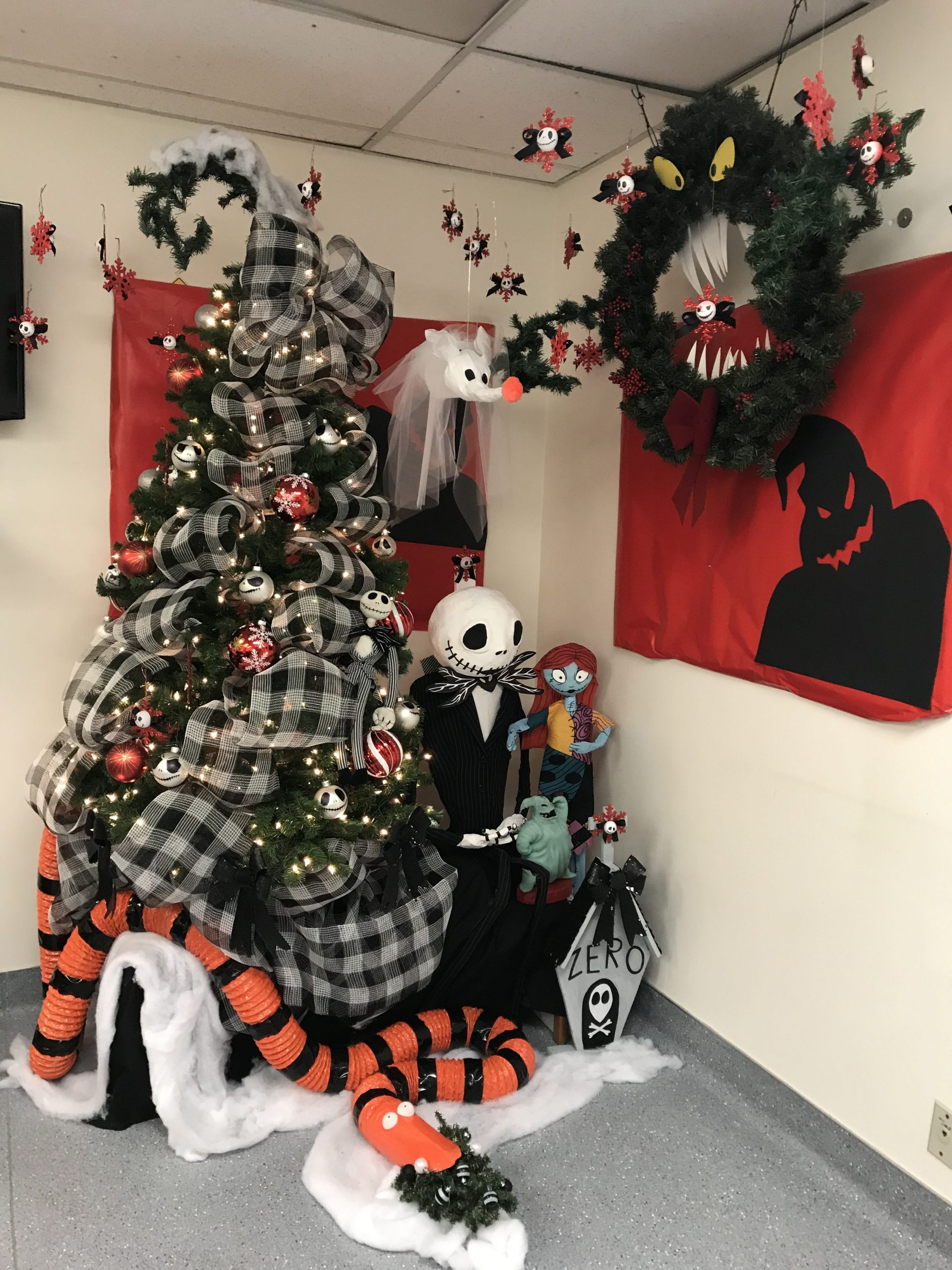 The Nightmare Before Christmas Decorations